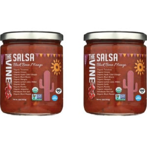 The Vine Low Sodium Black Bean Salsa