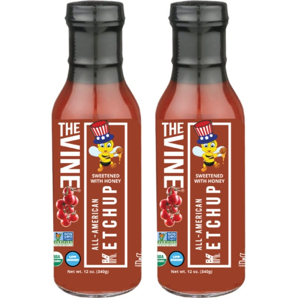 The Vine Low Sodium All American Ketchup